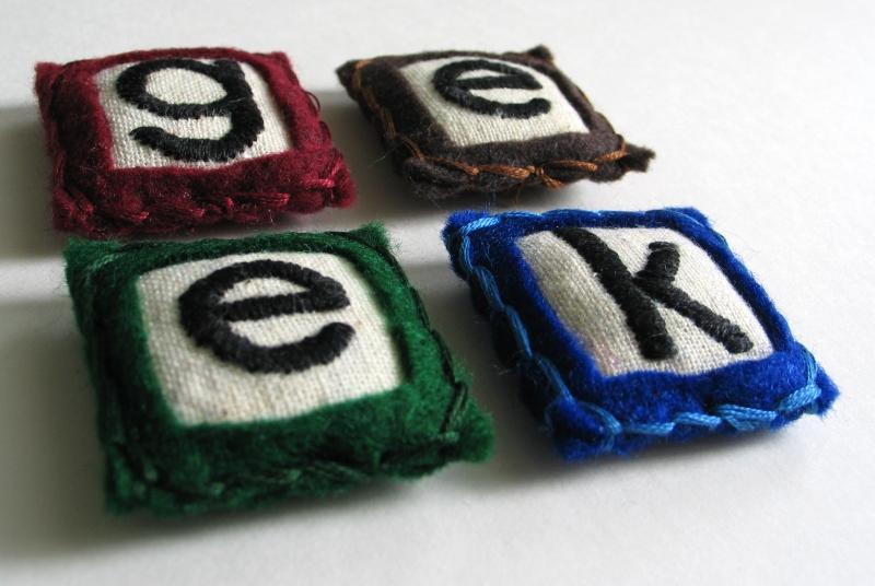 Geek, Angela - Pillowhead designs